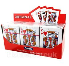 PLASTIC COATED PLAYING CARDS PACK SET POKER GAME STANDARD SIZE SEALED 5996