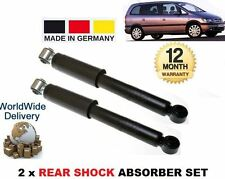 FOR VAUXHALL OPEL ZAFIRA F75 1999-2005 2x REAR  SHOCK SHOCKER ABSORBER SET