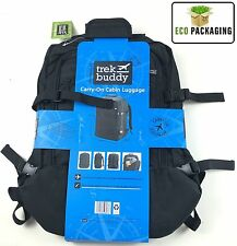 Trek Buddy Carry-on Cabin Bag Luggage Black Size Approx 55 x 40 x 20cm