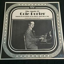 The Music of Cole Porter from Rare Piano Rolls Biograph in Shrink