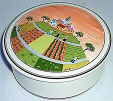 LOVELY VINTAGE RETRO VILLEROY & BOCH NAIF DECORATIVE TRINKET POT BOX