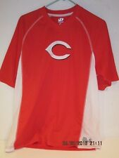 Cincinnati Reds Stitched Dynasty Men's Pullover Jersey Size L-FSHP NEW W/O TAGS