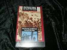 DUNKIRK THE BATTLE FOR FRANCE A RARE FIND ~VHS VIDEO PAL