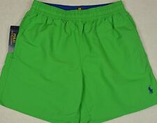 Polo Ralph Lauren Swim Briefs Trunks Swimming Shorts Green S Small NWT