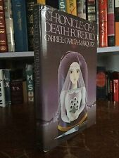 Chronicles of a Death Foretold Gabriel Garcia Marquez 1983 First Printing
