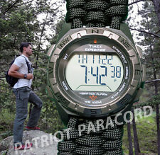 NEW! Timex Expedition VIBE Watch w/ Handmade Paracord 550 Watch Band
