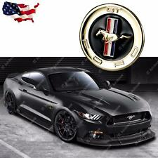 1PC Running Horse Emblem Metal Door Fender Badge Sticker Decal for Ford Mustang