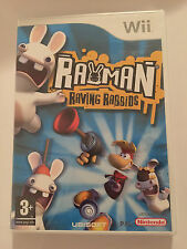Rayman Raving Rabbids For Nintendo Wii (New & Sealed)