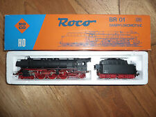 ROCO 04119B DB TRAIN DAMPFLOKOMOTIVE BR 01 HO 4-6-2-8  Boxed Excellent RARE