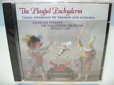 THE PLAYFUL PACHYDERM-Miniatures For Basson & Orch, Perkins-Bassoon Hyperion NEW