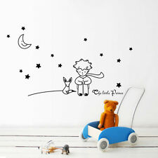Removable The Little Prince Fox Vinyl Wall Sticker Kids Baby Nursery Room Decor