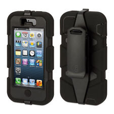 NEW GRIFFIN SURVIVOR MILITARY DUTY CASE COVER BELT CLIP FOR IPHONE 5 & 5S