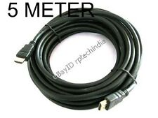 HDMI 5Meter 5M 5 Meter 16ft Cable V1.4 3D LED LCD HDTV High Speed 10.2GBPS #211