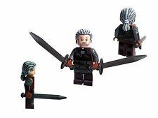 WITCHER 3 - GERALT OF RIVIA FIGURE WITH 2 SWORDS LORD OF THE RINGS HOBBIT CASTLE