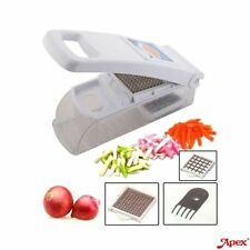 APEX NICER DICER Vegetable & Fruit Cutter/Chopper With 2 Blades