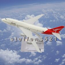 16CM Metal Plane Boeing Model Aircraft diecast Airlines aeroplane scale desk toy