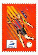 BR30016 Lens En route pour la XVI Coupe du Monde de Football stamps
