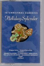 15 Christmas Classics Holiday Splendor by Various Artists 1998 Cassette case VG