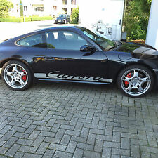 Porsche 911, 996, 997,  Carrera Schriftzüge. Streifen, Decals
