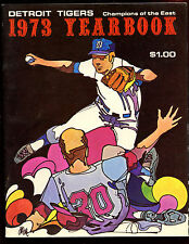 1973 Detroit Tigers MLB Baseball Yearbook EXMT