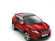 Genuine New Nissan Qashqai 2014 On Style Pack Chrome Door Sills & Mirror Caps