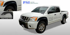 BLACK PAINTABLE Pocket Flares Fits Nissan TITAN 04-14 W/O BEDSIDE LOCKBOX ONLY
