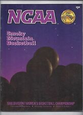 1990 Womens Final Four Program Auburn Stanford Louisiana Tech Virginia