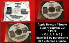 Apple Newton Emate Super Program CD e mate 3 pack (Vol. 1, 2, & 3 in one purch!)