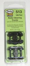 "Kadee HO scale # 513 Roller Bearing Metal Sprung Trucks ~ 36""  RP-25 wheels ~"