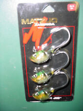 MATZUO PRISM JIG 3/8 OZ ( MPJ38-PER)  CARD OF 3 JIG HEADS