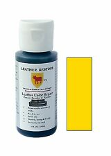 Leather Color Repair 1 Oz Recolor Restore Couch Furniture Sofa Restorer Yellow