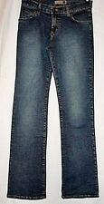 Forever 21 Juniors Jeans Blue Denim Stretch Boot Leg size 7 Junior Made in USA