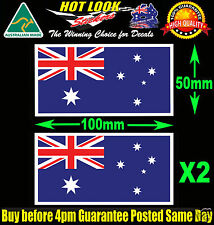 Australian Flag Stickers Suit Fishing Boat Kayak Tackle Box Beer Fridge Mancave