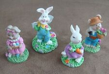 Easter Spring Bunny Rabbit Figurines Indoor Home Decor