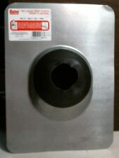 """Oatey 11867 Vent Stack Roof Flashing NC-3"""" Galvanized No-Calk,FREE SHIPPING"""