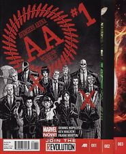 AVENGERS ARENA #1,2,3,4,5,6 Marvel Comics NOW! Undercover Uncanny FIRST PRINTS!