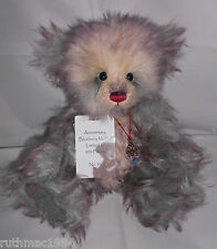 Charlie Bears BLUEBERRY MUFFIN 10th Anniversary Isabelle Lee 500 Limited Edition