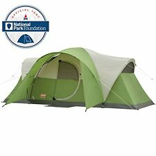 Coleman Montana Dome Tent 8-Person 16-Foot By 7-Foot Family Scouting Camping NEW