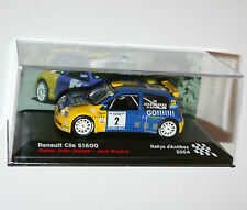 RENAULT CLIO S1600 - Rallye D'Antibes 2004 - Rally Model Scale 1/43