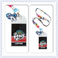 My Little Pony Mane Six ID Holder Lanyard Keychain Hasbro Rainbow Dash Apple Jac