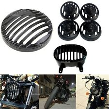 Heavy Metal Head Light+Lion Shape Indi Grill Tail Grill Bajaj Avenger Street 220