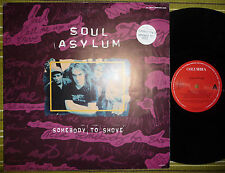 "SOUL ASYLUM, SOMEBODY TO SHOVE, 12"" EP 1993 HOLLAND A1/B1 EX/EX-, POSTER SLEEVE"