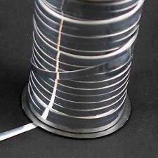 10 mètre de largeur 5mm argent métallisé curling ruban (32 pieds 9 pouces x 3/16 pouces)