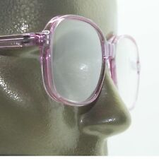 Simple Office Reading Glasses No Fuss Acrylic Violet Purple Frame +2.75 Lens