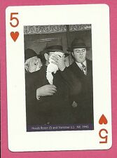 Rosen and Stemmer Mobsters Playing Card