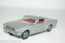 CORGI TOYS 320 FORD MUSTANG FASTBACK 2+2 SILVER GREY EXCELLENT CONDITION
