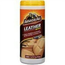 New Armor All 10881-4 Leather Wipes Canister, 20 Wipes
