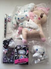 Tokidoki X Sanrio Cinnamoroll Plush Figure Pen lanyard Set New