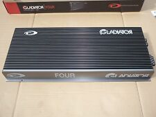 4x200W RMS@4ohm/4x400W RMS@2ohm!!! TEC GLADIATOR FOUR - 4 channel HIGH-END amp.