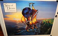 """DEAN MORRISSEY """"SHIP OF DREAMS"""" HAND SIGNED IN INK POSTER"""